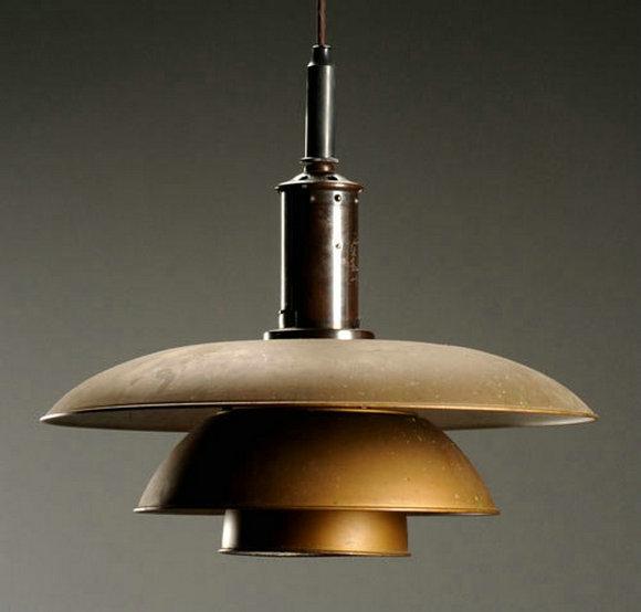 """PH""系列早期,仍旧是旧旧的古铜色,充满了当时的工业风"