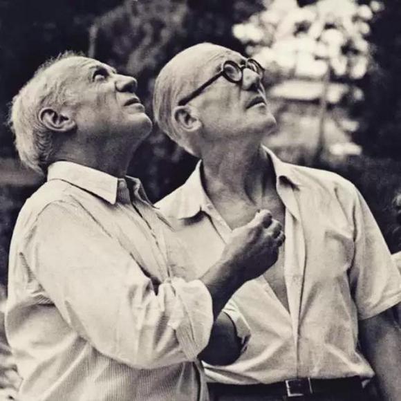 柯布西耶与毕加索