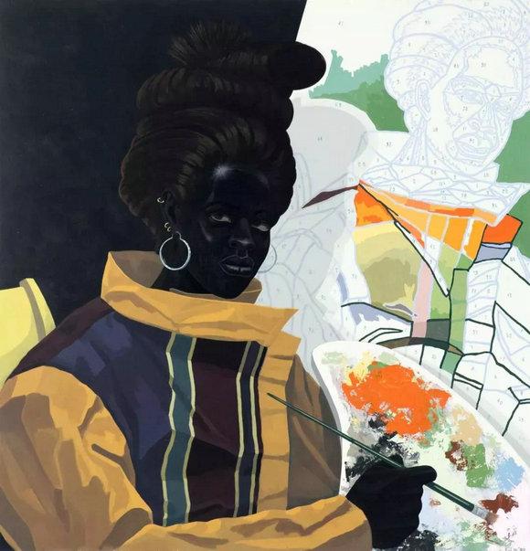 马歇尔《画家》(2009 年)