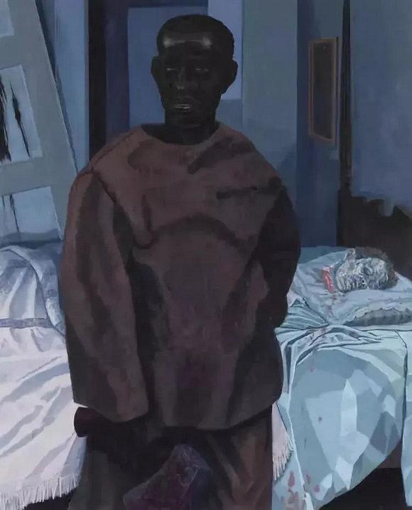 《奈特·特纳与老师脑袋的肖像》