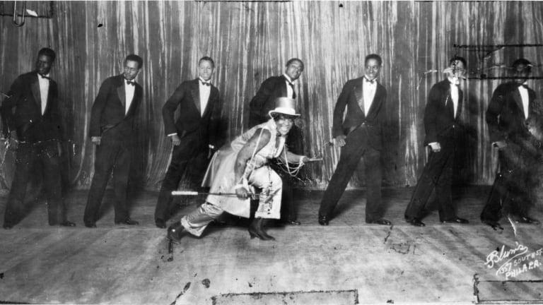 黑人爵士乐风靡全国