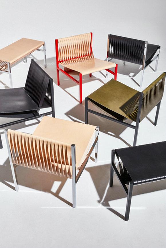 DL系列座椅有各种马鞍皮革颜色可供选择。