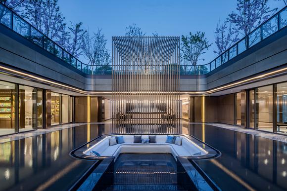 zhongnan mansion club house效果图