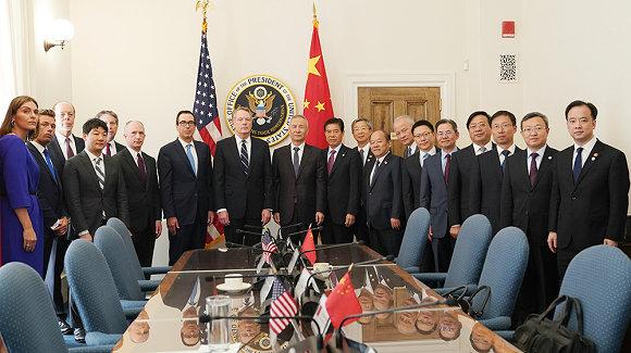 新一轮中美经贸高级别磋商在华盛顿开幕
