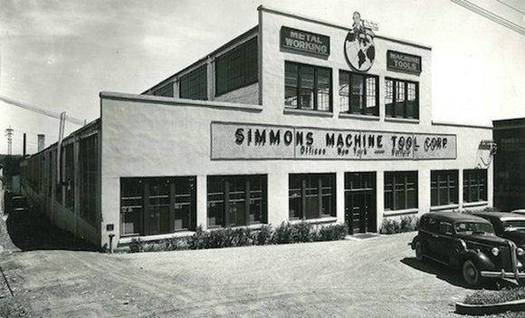 席梦思位于纽约州奥尔巴尼的工厂
