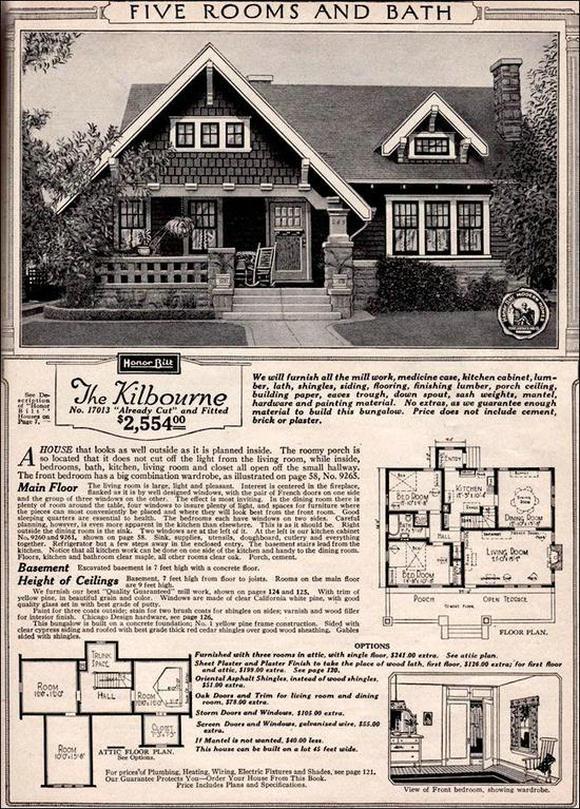 西尔斯住宅目录图纸
