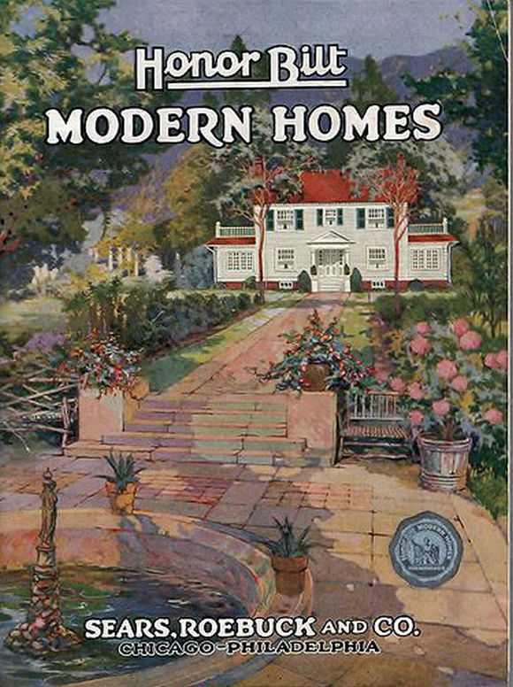 1922年的西尔斯现代住宅目录