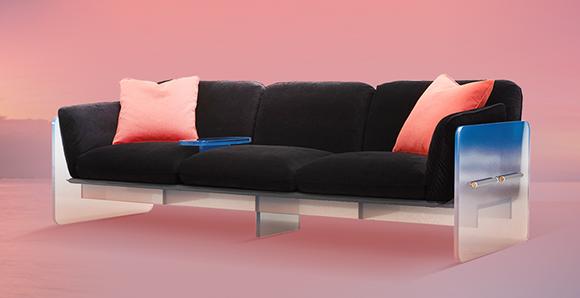 08顾家家居Less Sofa(维纳斯带)沙发