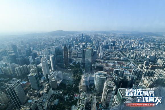 广州东塔瑰丽酒店俯瞰