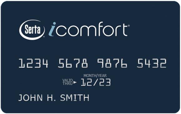 舒达icomfort信用卡
