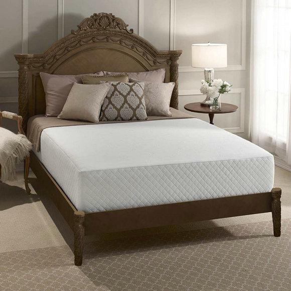 001舒达12英寸凝胶记忆绵床垫