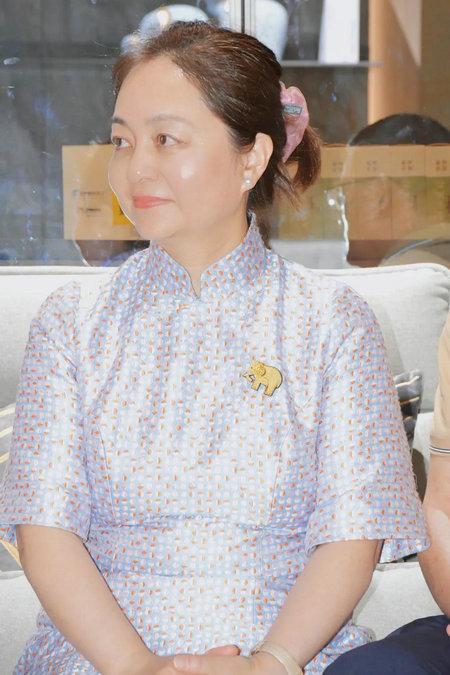 圣象集团副总裁朱玲英