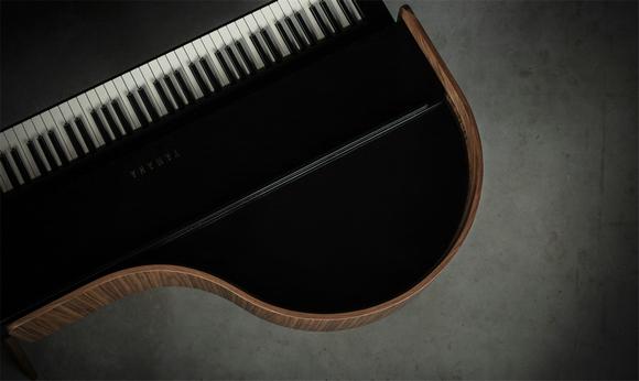 钢琴细节图