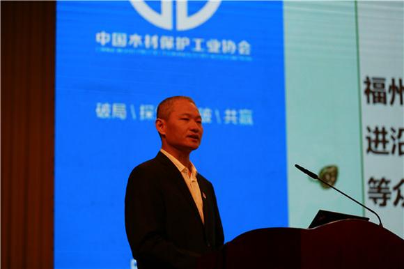 陈良斌副市长推介漳平户外木竹制品产业园