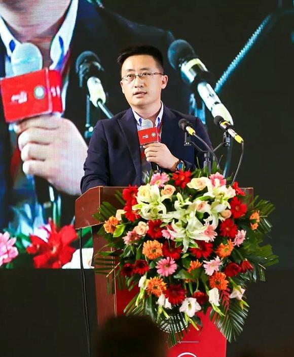 墨瑟门窗有限公司总经理刘志来致辞