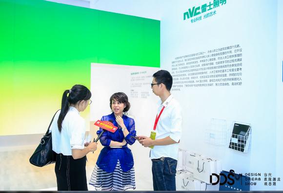 雷士集团首席品牌官杜莹华接受采访