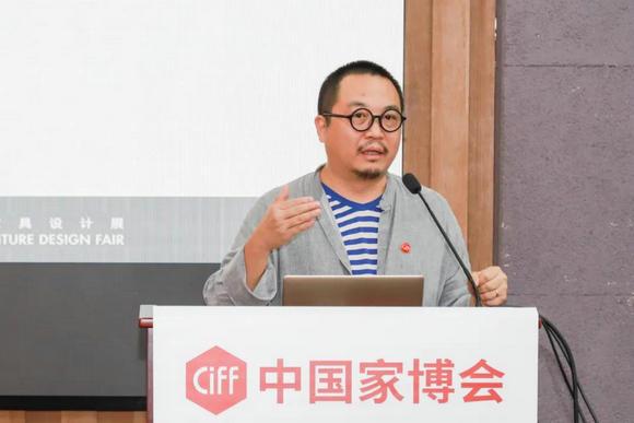 联合策展人、中国家具协会设计工作委员会副主任、上海市工业设计协会副会长 侯正光