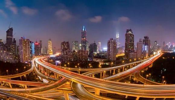 广东城市夜景图2