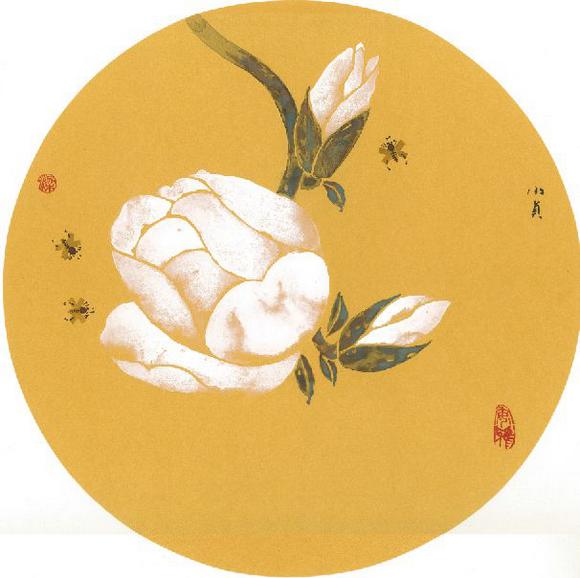 《花开》梁小贞画
