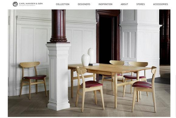 丹麦历史最悠久的家具制造商之一:Carl Hansen & Son Holding_副本