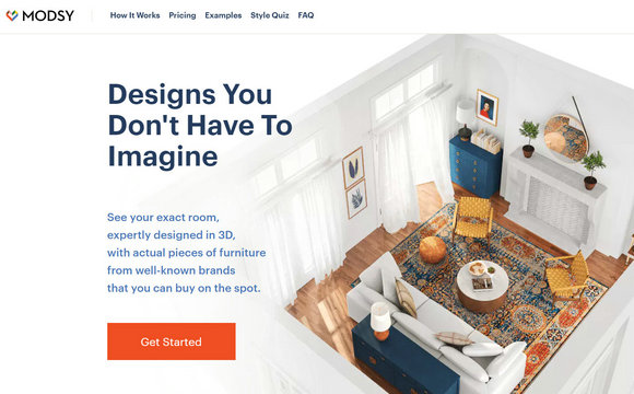 3D 家居设计公司 Modsy 完成3700万美元C轮融资