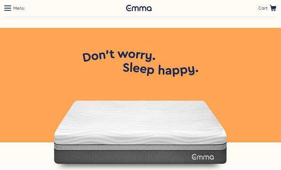 曾荣获29项欧洲消费者测试奖,欧洲互联网床垫品牌 Emma 进军美国市场