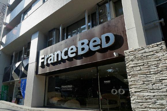 2、法兰西床在东京六本木的门店